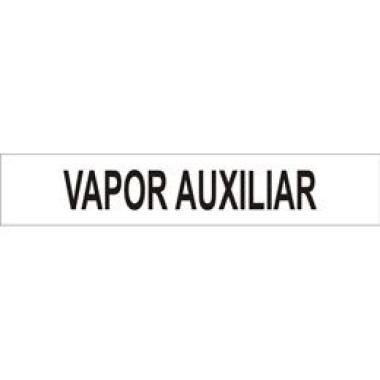 Marcador De Tubulação Para Uso Externo Vapor Auxiliar