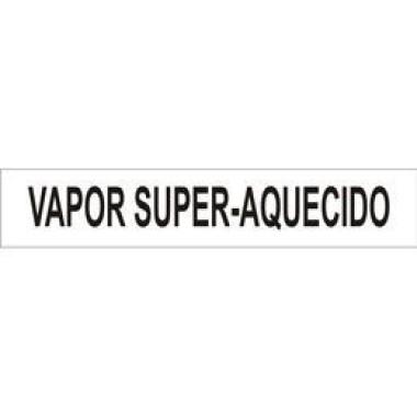Marcador De Tubulação Para Uso Externo Vapor Super-Aquecido