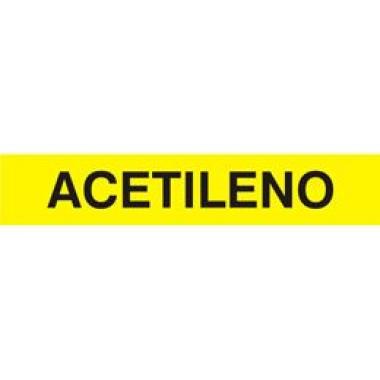 Marcador de Tubulação para Uso Externo - Acetileno