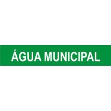 Marcador De Tubulação Para Uso Externo Água Municipal