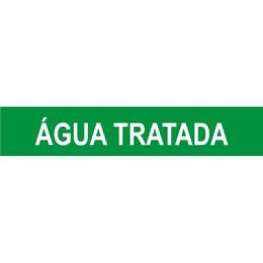 Marcador De Tubulação Para Uso Externo Água Tratada
