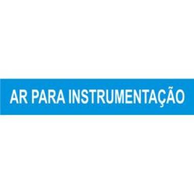 Marcador de Tubulação de Pequeno Diâmetro - Ar para Instrumentação