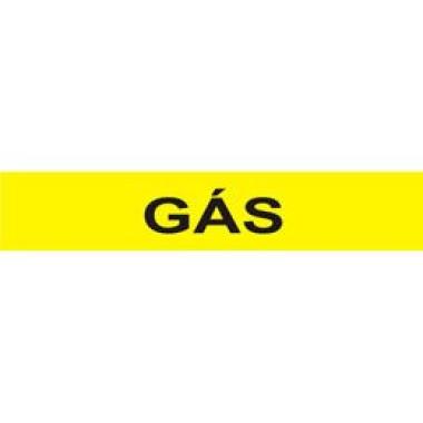 Marcador De Tubulação Autoadesivo Gás