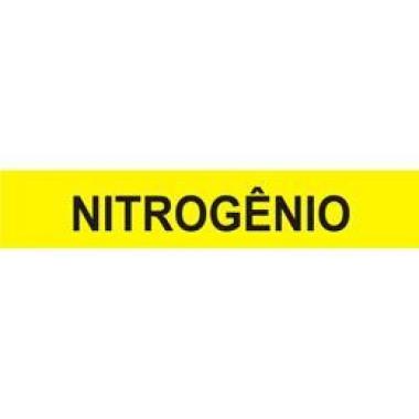 Marcador de Tubulação Autoadesivo - Nitrogênio