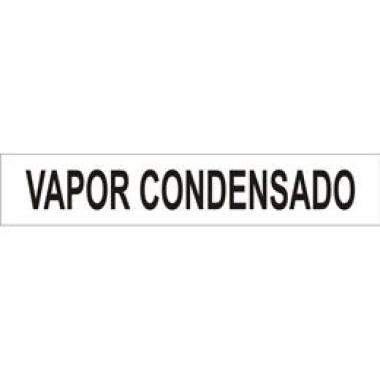 Marcador de Tubulação Autoadesivo - Vapor Condensado
