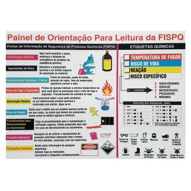 Painel de Orientação para Leitura de FISPQ