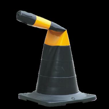 Cone de Sinalização Semiflexível