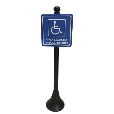 Pedestal para Deficientes
