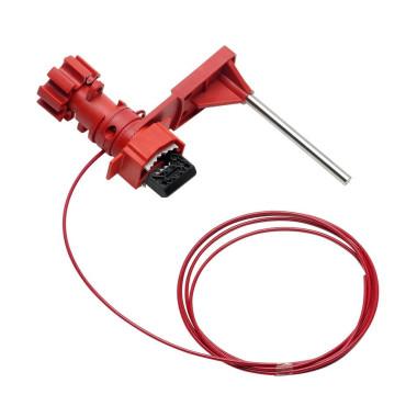 Kit de travamento com cabo de nylon ou aço - Garra de Bloqueio Universal de segurança - 2,5cm