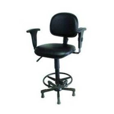 Cadeira para área de Produção com Pistão a Gás
