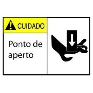 Etiqueta de Cuidado - Ponto de Aperto