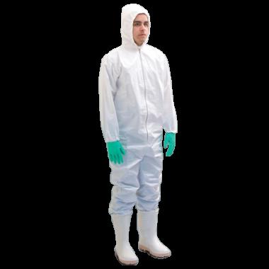 Macacão de Proteção Química | Classe D