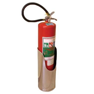 Suporte de Alta Estabilidade para Extintor em Inox