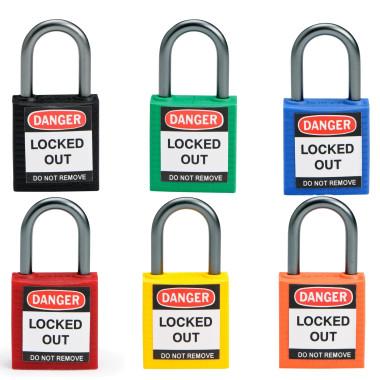 Cadeados de Segurança | Segredo Igual com Chave Mestra