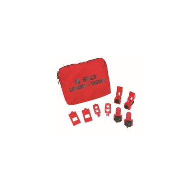 Kit Portátil de Bloqueio Disjuntores 120/227V