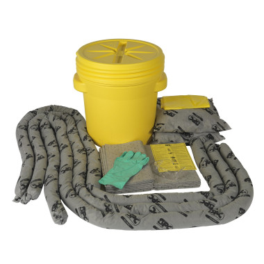 Kit de Emergência Universal com Balde de 75 litros