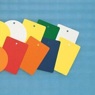 Plaquetas Plásticas Coloridas Retangulares