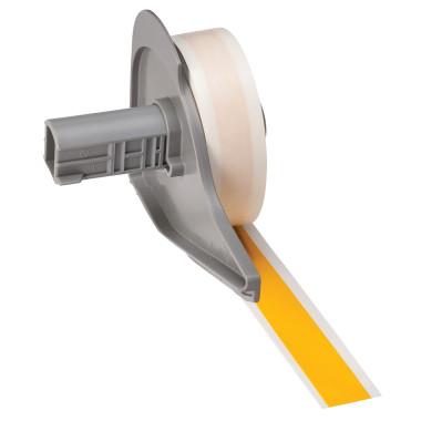 Etiqueta de Vinil - Amarela - 12,7 mm x 15,24 m