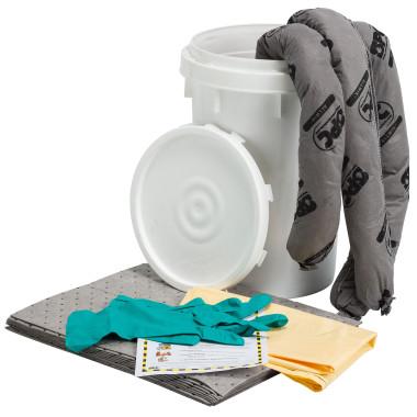 Kit de Emergência Universal pequeno com Balde de 25 litros