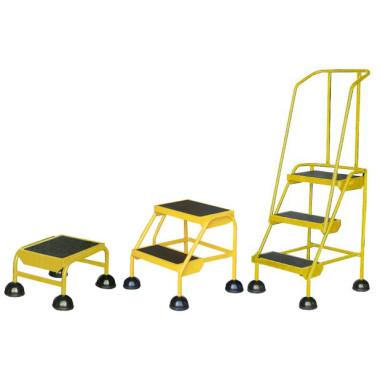 Mini Escadas com Rodízios