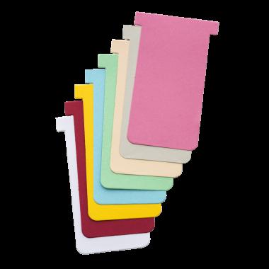 Cartões T em Cartolina para Sistema Kanban