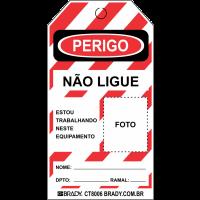 Cartão de Travamento | Perigo Não Ligue